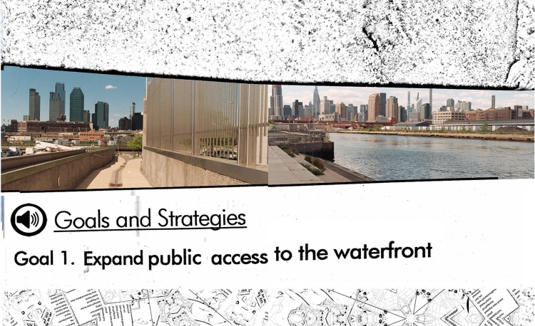 inside spread of waterfront access mapping manual